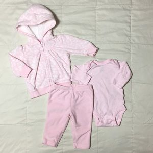 Carters 3 piece winter outfit size 3 months